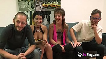 Swinging couples chatroom Unexperienced couples first wife swap ends up badly