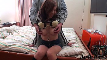 Japanese Step Sis Rimming Her Boyfriend!