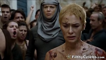 Lena Headey Nude Walk Of Shame In Game Of Thrones 7分钟