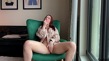 Solo female pussy fingering and showing my feet KleoModel 10 min