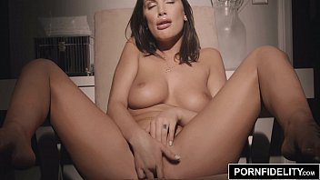 PORNFIDELITY August Ames Oiled Up and Fucked