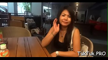 Bitchy thai angel makes a stranger get the best relaxation