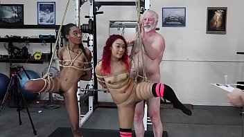 Small naked bondage Sarah lace / chanel skye hard bondage naked girls petite small tits black latina