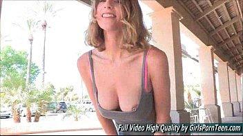 Public Anya hot amateur slut blonde