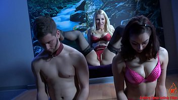 Femdom fire Tonights slave - couples retreat - part 1