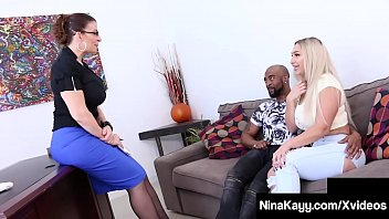 Phat Ass Fuck Fiend Nina Kayy shares a big chocolate cock with dark dick loving Milf Sara Jay in this hot interracial threesome! Full Video & Nina Kayy Live @ NinaKayy.com!