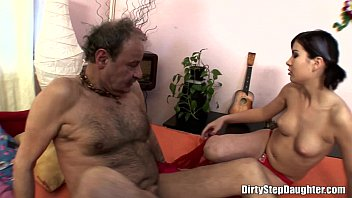 Teen Pussy Medicine For Her Sick Stepfather