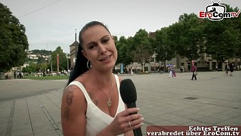 German Street casting - EroCom search guy for first time userdate 23 min