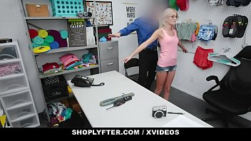 Shoplyfter Skinny Blonde With Eyeglasses (Tallie Lorian) Gets Fucked