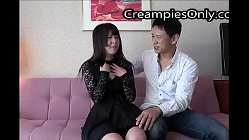 Japanese Girl With Big Breasts Gets Creampied