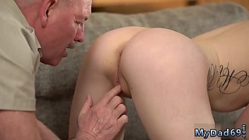 Amateur comrade's daughter seduced and fucked by old father daddy 7 min