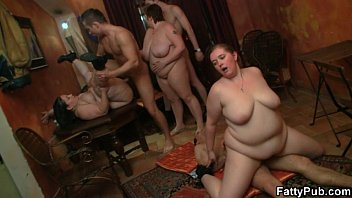 Fat Girl Enjoys  Two Cock From Both Ends Both Ends