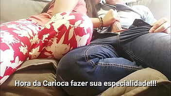 Want to Fuck or Listen to Music? Because Julia Carioca wants to cum! | Full in RED