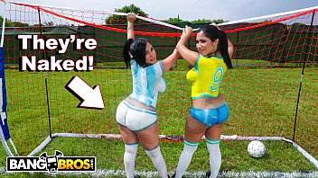 Destiny the porn star - Bangbros - sexy latina pornstars with big asses play soccer and get fucked