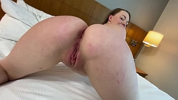 18 year old slut step sister's ass is to big for this bed