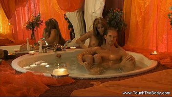 Erotic performance art Body cleaning time honey