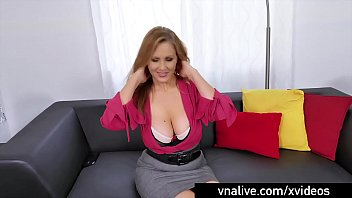 Free porn sites no membership Vnalive.com - busty milf julia ann wraps lips around a cock