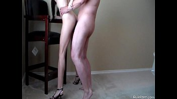 Sexy carttons from disnay Standing fuck in heels and cum swallow