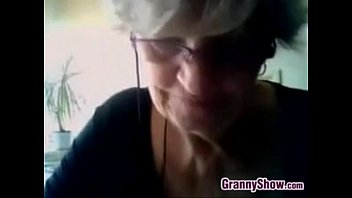 Flat breasted granny Grandma shows off her breastsbusty grandma sh
