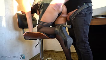 business woman leather skirt sex