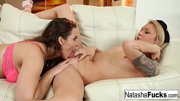 Amazing lesbian fucking with Natasha Nice and Dakota