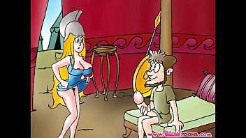 Mobile adult animation - The iliad 2 adult cartoon