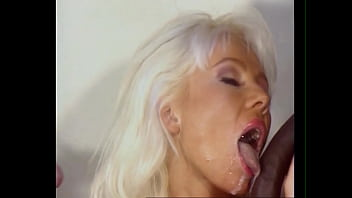 Beautiful Busty Blond Babe Bukkake DP and Anal, Cum All Over Helen Duval