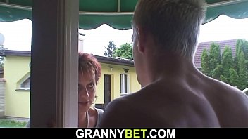 Hot 60 years old woman