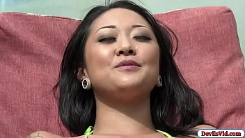 Asian babe Saya fucked by her friend 5 min