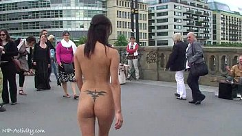 Agnes B. Naked In Public Streets