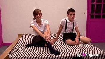 Young teens Ainara and Jordi have a hot fuck 'cause they want to get everyone horny thumbnail