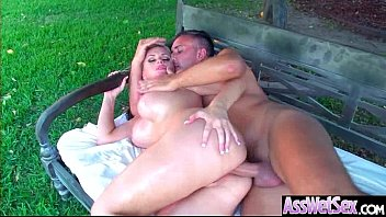 Slut Naughty Oiled Girl (Alena Croft) With Big Round Butts Love Anal Sex movie-03