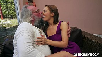 Old man bangs Dominica Fox's tight young pussy pornhub video