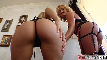 Fist Flush Pussy stretching and fisting by two eager babes image