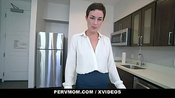 StepMother (Olive Glass) Gives StepSon a Female Anatomy Lesson - PervMom