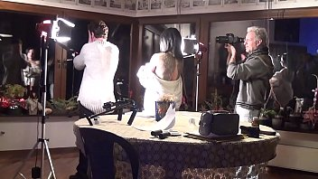 """Streaming Video ANDY CASANOVA - Backstage from the set of """"La Femme Fatale"""" (Giulia Lagherta) - XLXX.video"""