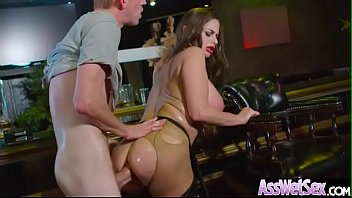 (Cathy Heaven) Horny Girl With Big Oiled Ass Get It Hard In Her Behind clip-14 7分钟