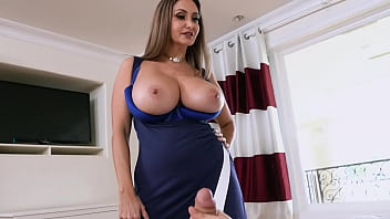 Stepmom Ava Addams Catches Connor Kennedy Sniffing Her Panties