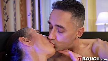Naughty Mariana banged doggystyle by young fucker