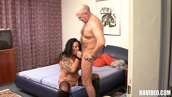 Stockinged mature german whore take cock