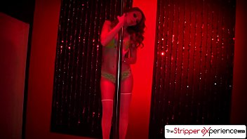 The Stripper Experience - Red headed stunner Marie McCray suck a big dick