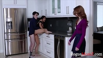 Mom teaches my GF how to fuck me WTF