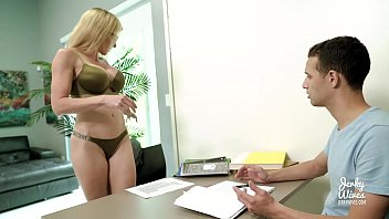 Step Mom Craves Young Cock - Cory Chase
