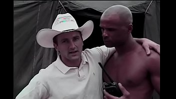 Morgan black gay porn Playful white dude paul morgan is lookng for next salami smuggler for his narrative and he finds black volunteer winston love in tented camp