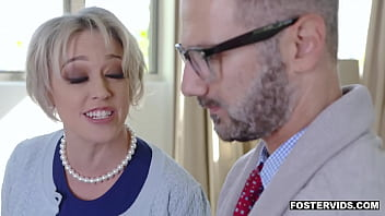 Dee Williams really wants to get pregnant so she let her foster son fuck her MILF pussy and be her b. daddy.