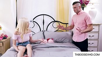 Stepbrother teach how to have sex