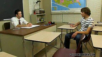 Horny Student Cheats With The Teacher