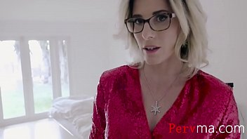 Jingle Bells With Blonde MILF Mom- Cory Chase