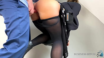 young business woman used in her sexy nylons - pantyhose compilation, business-bitch 20分钟