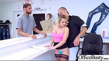 Naughty Office Girl (Cali Carter) With Big Melon Tits Love Intercorse movie-23